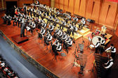 Student symphonic band — Stock Photo