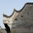 Roof of chinese traditional building — Stock Photo