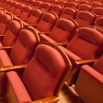 Free theater seats — Stock Photo #10845412
