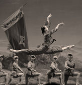 Chinese ballet : The Red Detachment of Women — Stock Photo