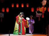 Actriz de la ópera tradicional china muy chino — Foto de Stock
