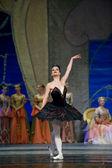 Russian royal ballet perform Swan Lake ballet — Stock Photo