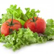 Lettuce and tomatoes — Stock Photo #11006944