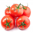 Composition of Tomatoes — Stock Photo
