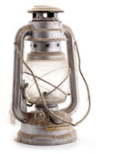 Old dusty oil lamp — Stok fotoğraf