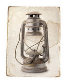 Oil lamp. — Stock Photo