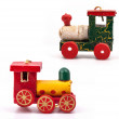 Wooden toy train — Stock Photo #11742178