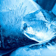 Blue ice texture — Stock Photo #11742184
