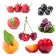 Berry and fruit - Stock Photo