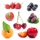 Berry and fruit — Stock Photo