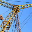 Hoist/crane with clear — Stock Photo #11940575