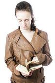 Teen avec livre — Photo
