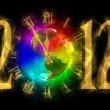 Magical yıl 2012 - değişim - Amerika Zamanı — Stok fotoğraf