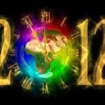Magical yıl 2012 - değişim - Avrupa Zamanı — Stok fotoğraf