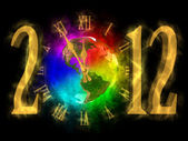 Magical year 2012 - time for change - America — Stock Photo