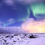 Nordlicht - Island — Stock Photo