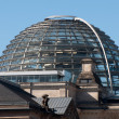 Dome on top of the Reichstag building — Stock Photo #10753270