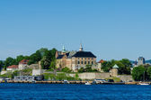 Ancient Akershus Fortress — Stock Photo