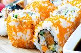 Maki Sushi - Roll close up — Stock Photo