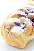 Pastry with jam — Stock Photo