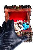 Jewelery robbery — Stock Photo