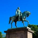 Постер, плакат: Statue of king Carl Johan