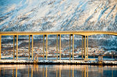 Bridge in Tromso — Stockfoto