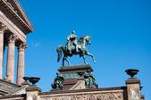 Alte nationalgalerie berlin tyskland — Stockfoto