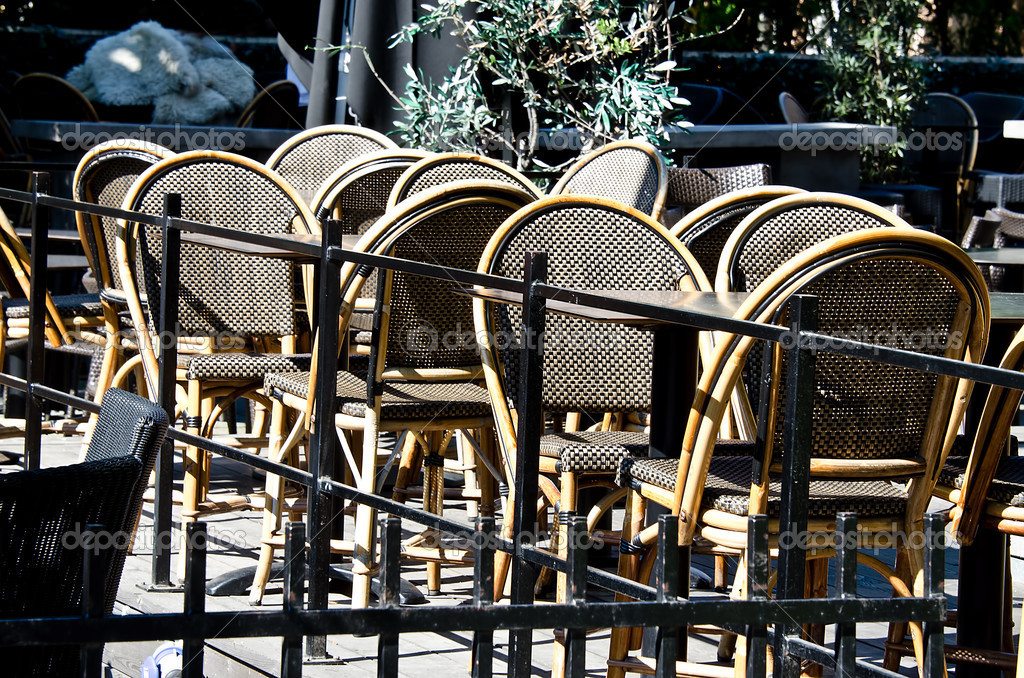 Outdoor cafe — Stock Photo #11513184