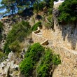 Stairs lloret — Stock Photo