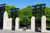 Vigeland giriş — Stok fotoğraf