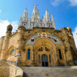 Temple tibidabo — Stock Photo