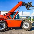 Red skid steer — Stock Photo #12257070