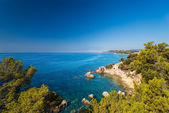 Waterfront costa brava — Stock Photo