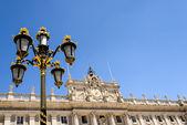 Palace lamppost — Stock Photo