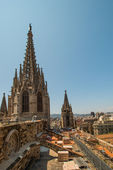 Roof of cathedral — Stock Photo
