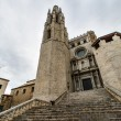Church girona - Stock Photo