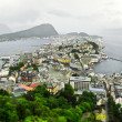 Royalty-Free Stock Photo: Rainy alesund