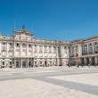 Royal palace madrid — Stock Photo