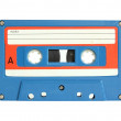 Cassette tape isolated on white with clipping path — Stock Photo #10918302