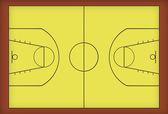 Basketplan — Stockfoto