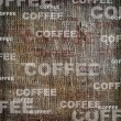 Background coffee texture vintage burlap - Stockfoto