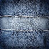 Background denim texture — Stock Photo