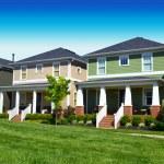 Brand New Suburban American Dream Home — Stock Photo #11906051