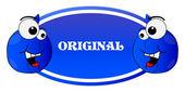 Original label — Stock Vector