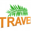 Travel background — Stock Photo
