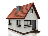 3d small home — Stock Photo