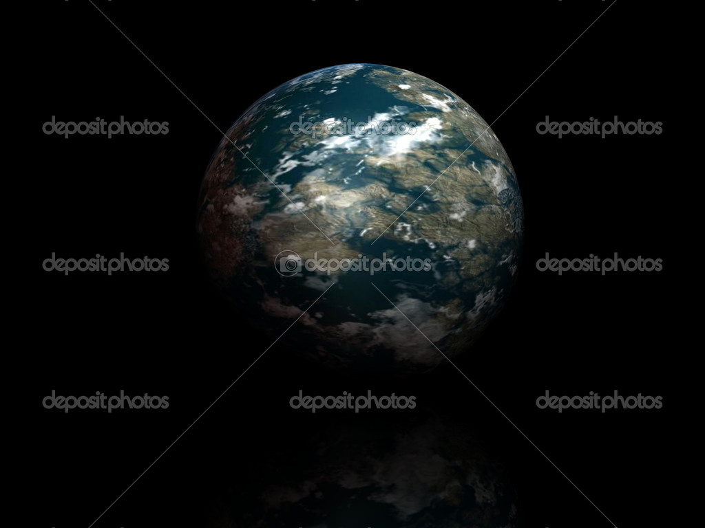 World globe isolated on black background — Stock Photo #11192535