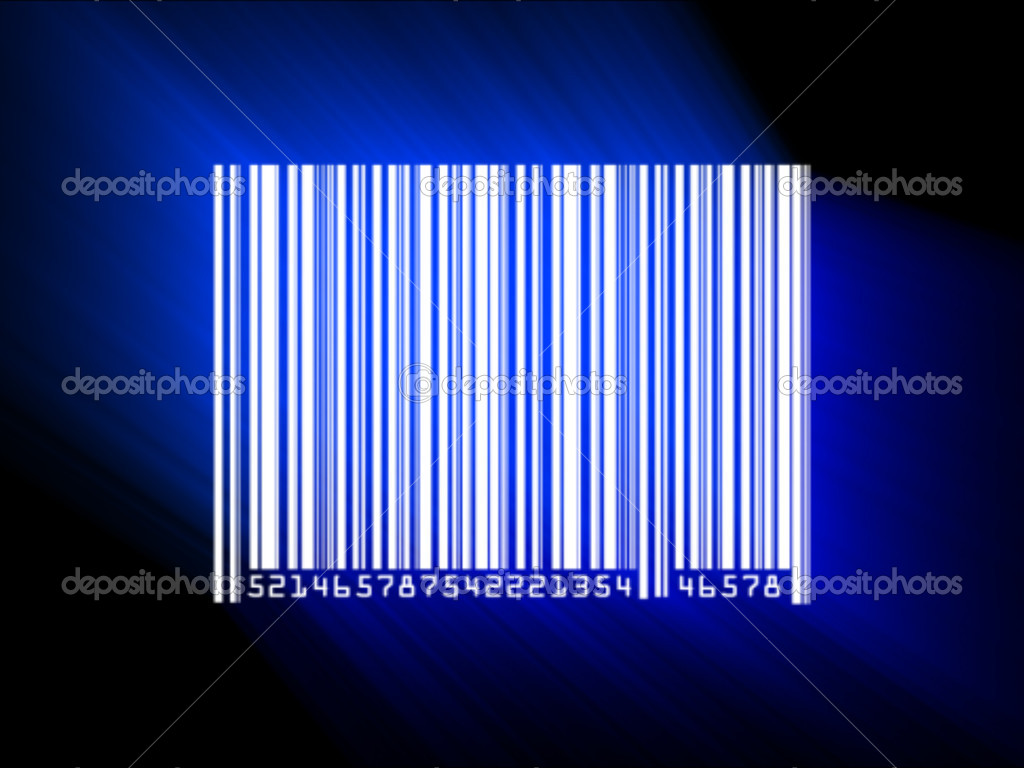 Barcode scanned  — Stock Photo #11259930