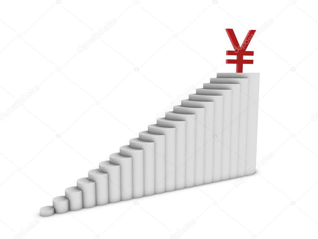 Yen chart  Stock Photo #11505898